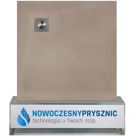 Płyta prysznicowa Wiper 1000 x 1000 mm Punktowa Ponente