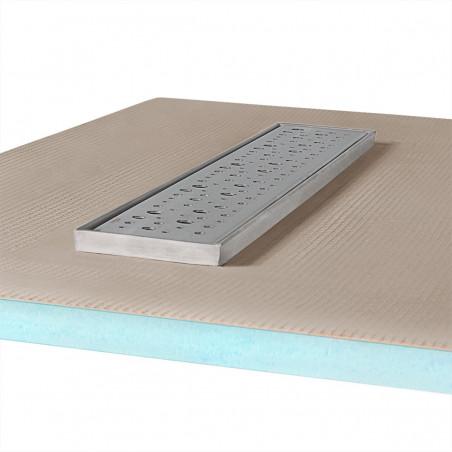 Płyta prysznicowa Wiper 1000 x 1000 mm Liniowa Mistral