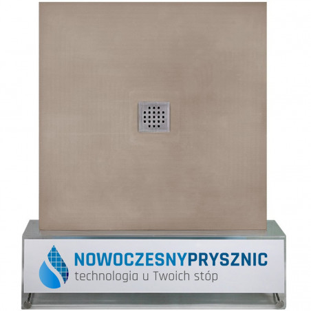 Płyta prysznicowa Wiper 900 x 900 mm Punktowa Sirocco