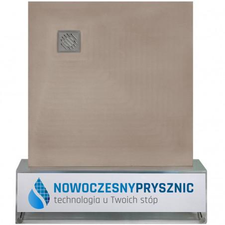 Płyta prysznicowa Wiper 1000 x 1000 mm Punktowa Zonda