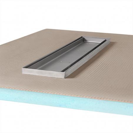 Płyta prysznicowa Wiper 1000 x 1000 mm Liniowa Pure