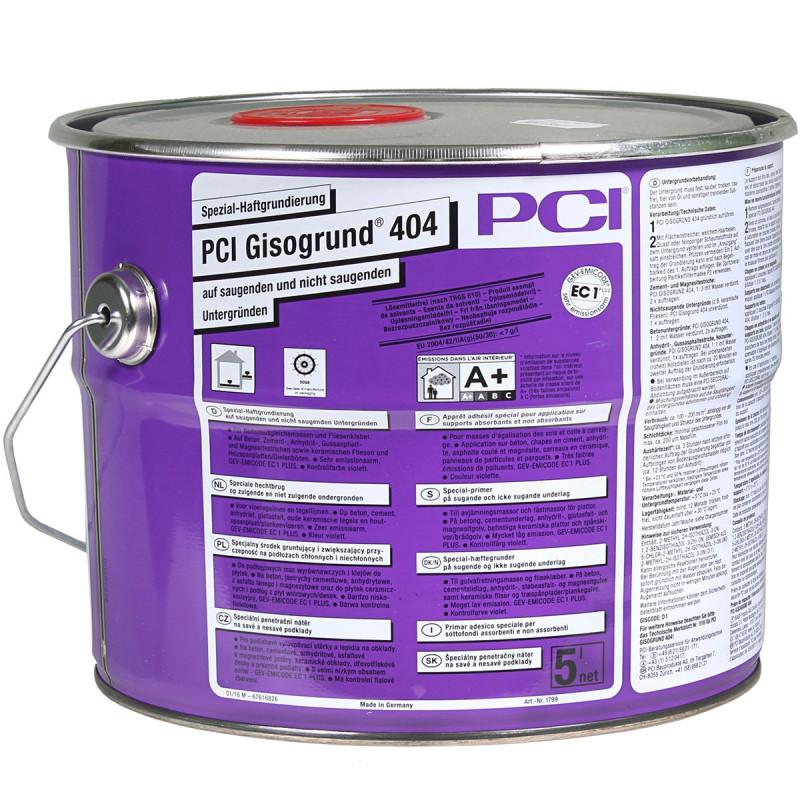 Specjalny środek gruntujący PCI Gisogrund® 404 5L