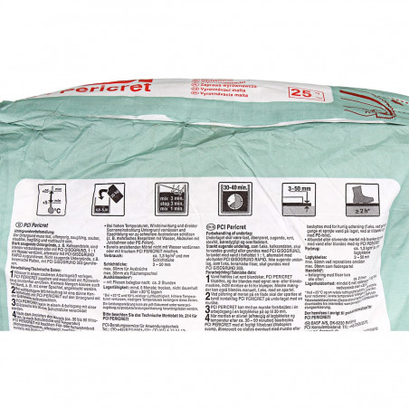 Szpachlówka cementowa PCI Pericret® 25 kg