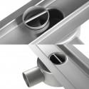 Odpływ liniowy Wiper 700 mm Elite Slim Pure
