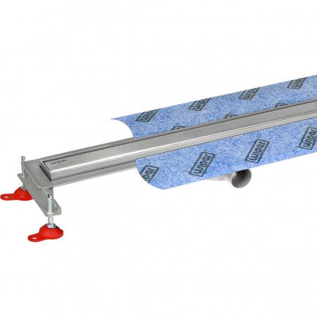 Odpływ liniowy Wiper 600 mm Elite Slim Ponente