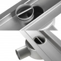 Odpływ liniowy Wiper 800 mm Elite Slim Ponente