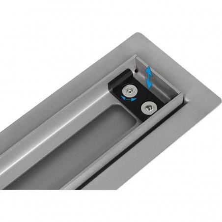 Odpływ liniowy Wiper 500 mm Elite Slim Sirocco