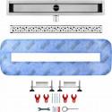 Odpływ liniowy Wiper 500 mm Premium Slim Mistral