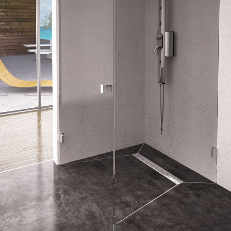 Odpływ liniowy Wiper 600 mm Premium Slim Mistral