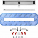 Odpływ liniowy Wiper 1200 mm Premium Slim Ponente