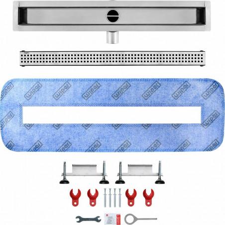 Odpływ liniowy Wiper 800 mm Premium Slim Sirocco