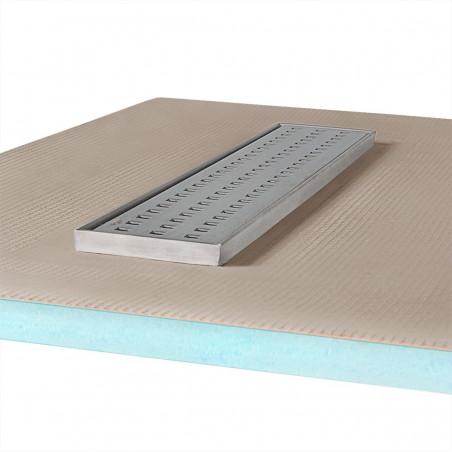 Płyta prysznicowa Wiper 1000 x 1000 mm Liniowa Sirocco
