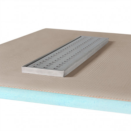 Płyta prysznicowa Wiper 800 x 1500 mm Liniowa Sirocco