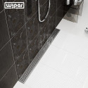 Odpływ liniowy Wiper 600 mm Classic Tivano
