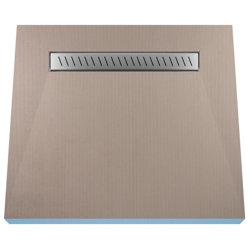 Płyta prysznicowa Wiper 800 x 800 mm Liniowa Zonda