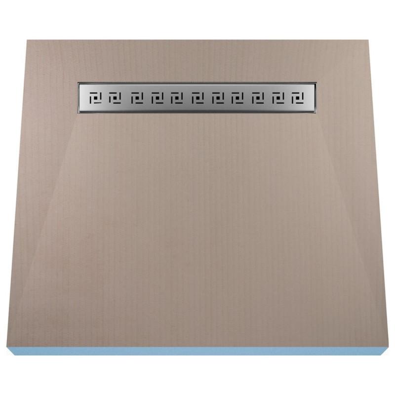 Płyta prysznicowa Wiper 800 x 800 mm Liniowa Tivano
