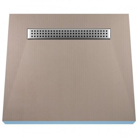 Płyta prysznicowa Wiper 800 x 800 mm Liniowa Sirocco