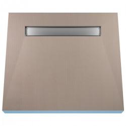 Płyta prysznicowa Wiper 900 x 900 mm Liniowa Pure