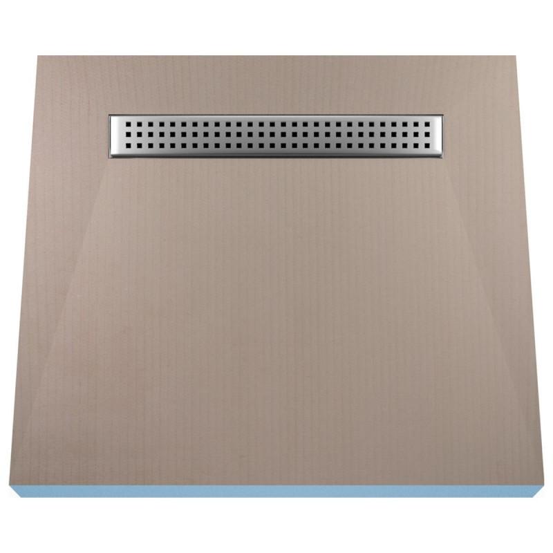 Płyta prysznicowa Wiper 900 x 900 mm Liniowa Sirocco