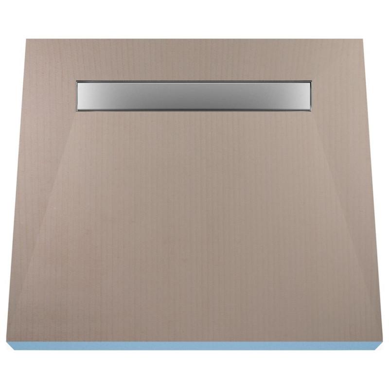 Płyta prysznicowa Wiper 1000 x 1000 mm Liniowa Ponente
