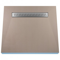 Płyta prysznicowa Wiper 1000 x 1000 mm Liniowa Zonda