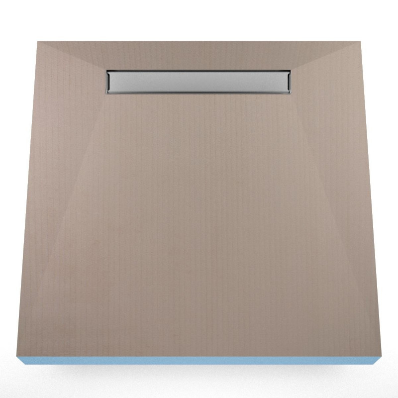 Płyta prysznicowa Wiper 1200 x 1200 mm Liniowa Invisible