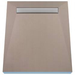 Płyta prysznicowa Wiper 800 x 1500 mm Liniowa Ponente