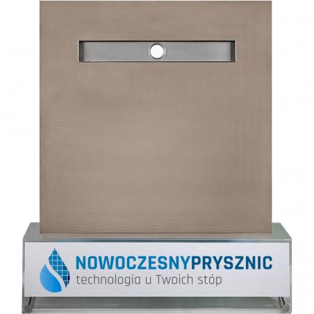Płyta prysznicowa Wiper 1000 x 1000 mm Liniowa Tivano