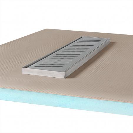 Płyta prysznicowa Wiper 900 x 900 mm Liniowa Zonda