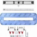 Odpływ liniowy Wiper 700 mm Elite Slim Ponente