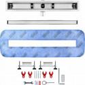 Odpływ liniowy Wiper 500 mm Elite Slim Pure