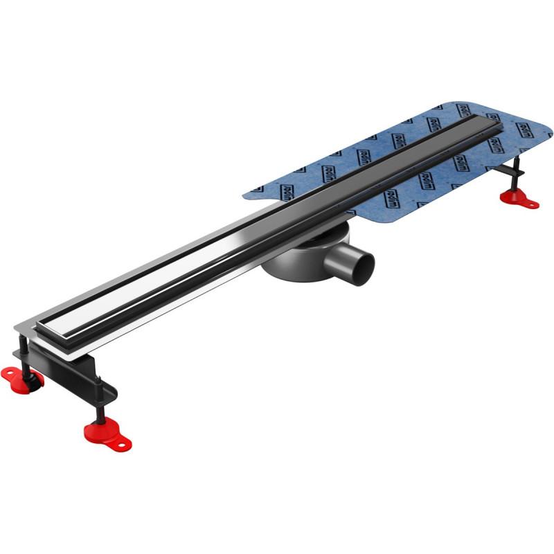 Odpływ liniowy Wiper 500 mm Elite Slim Ponente