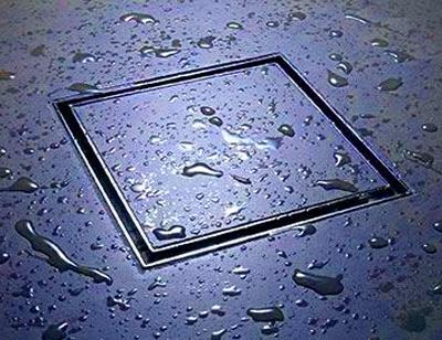 Kwadratowy odpływ prysznicowy